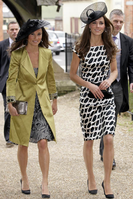 Pippa was seen helping the Duchess of Cambridge when she was pregnant with Prince Louis (Image GETTY)