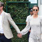 Pippa with her husband James Matthews at Wimbledon (Image GETTY)