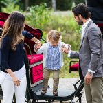 Prince Alexander stole the show during his first engagement Photo (C) GETTY