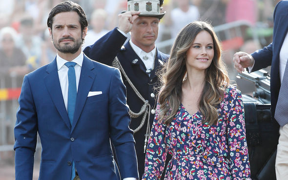 Prince Carl Philip and Princess Sofia started dating in 2010 (Image GETTY)