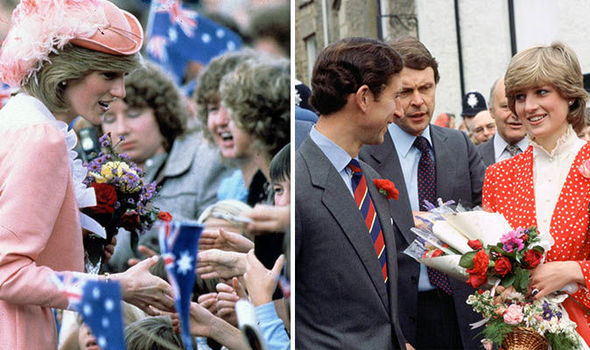 Prince Charles became jealous of the attentions the public gave to Diana months after the wedding (Image GETTY)