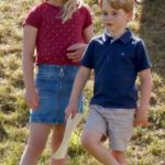 Prince George and Savannah Phillips have been reunited in Balmoral Photo (C) GETTY