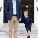 Prince George is due to return back to school at Thomas's Battersea next month (Image GETTY)