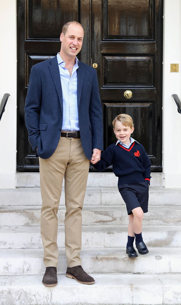 George attended his first ever grouse shooting at Balmoral on Friday (Image GETTY)