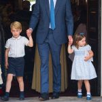 Prince George is often seen wearing shorts, to show he comes from the upper class British elite (Image GETTY)