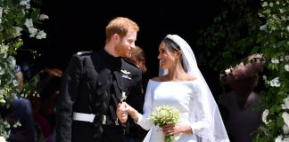 Prince Harry and Meghan Markle's wedding rings earlier this year were made of a rare lump of Welsh gold, but there are fears it has run out. Source Getty