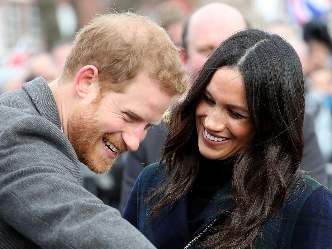 Prince Harry and Meghan Markle Is that the pitter-patter of tiny ginger feet Photo (C) GETTY