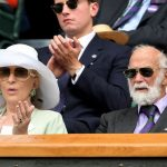Prince Michael of Kent pictured in the Royal Box at Wimbledon in July (Image GETTY)
