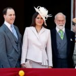Prince Michael of Kent standing on the balcony of Buckingham Palace during Trooping The Colour (Image GETTY)