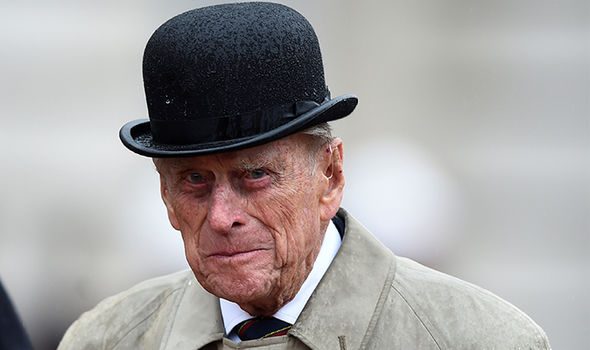 Prince Philip did not take kindly to a question from Matt Smith's friend (Image NETFLIX GETTY)
