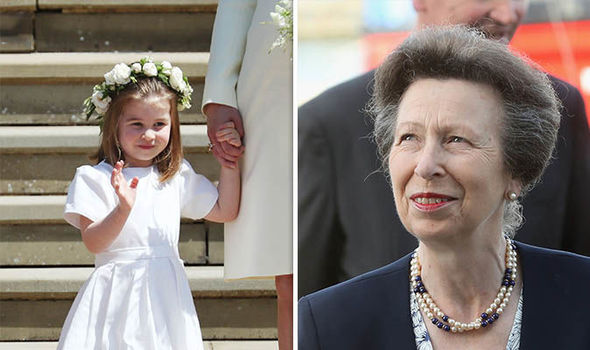Princess Charlotte is fourth in line for the throne (Image GETTY)