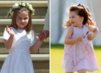 Princess Charlotte is only seen wearing dresses during royal engagements and even casual outings (Image GETTY)