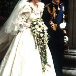 Princess Diana Dress was highly inspired by 80s fashion, with a full skirt (Image GETTY)