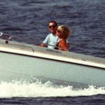 Princess Diana and Dodi on a speedboat during the yacht holiday in 1997 (Image REUTERS)
