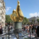 Princess Diana death anniversary The Flame of Liberty monument in Paris became a Diana memorial (Image GETTY)