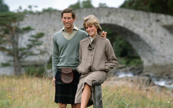 Princess Diana on her honeymoon with Prince Charles in 1981 (Image GETTY)