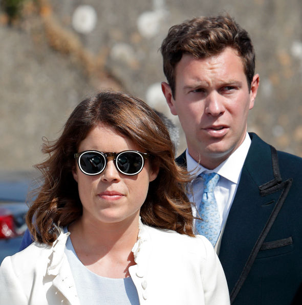 Princess Euegenie and Jack Brooksbank are getting married in October (Image GETTY)