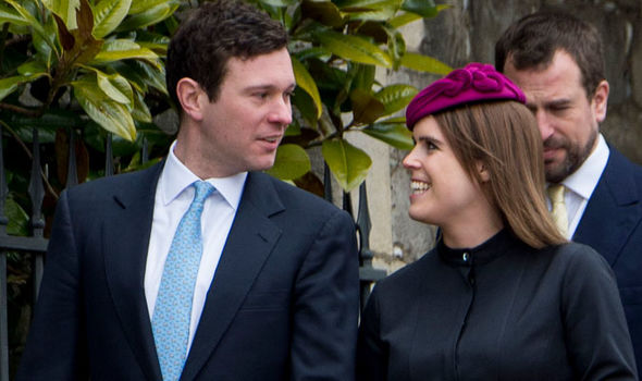 Princess Eugenie She landed herself in trouble with the royal family after an Instagram post (Image Getty)