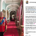 Princess Eugenie The Instagram post of Prince Andrew that landed her in trouble (Image Instagram)