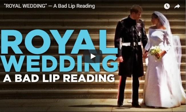 ROYAL WEDDING — A Bad LROYAL WEDDING — A Bad Lip Readingip Reading