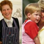 Rarely seen pictures of Prince Harry's Eton's bedroom reveal sweet tribute to Princess Diana (Image Getty)