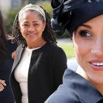 STRONG BOND Meghan with her mother Doria Ragland and the family home in Los Angeles (Image PA )