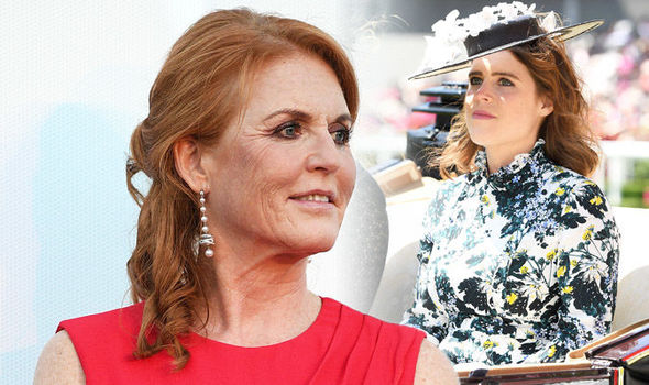 Sarah Ferguson Fergie 'disgusted' by article on Princess Eugenie slamming royal (Image GETTY)