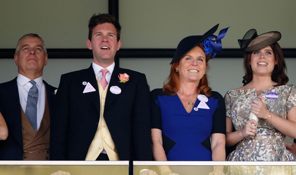 Sarah Ferguson She still lives with ex husband Prince Andrew (Image Getty BBC)