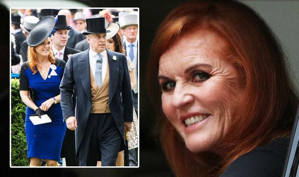 Sarah Ferguson She still lives with ex husband Prince Andrew (Image Getty BBC)
