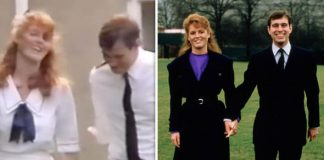 Sarah Ferguson and Prince Andrew got married in 1986 (Image YOUTUBE GETTY)