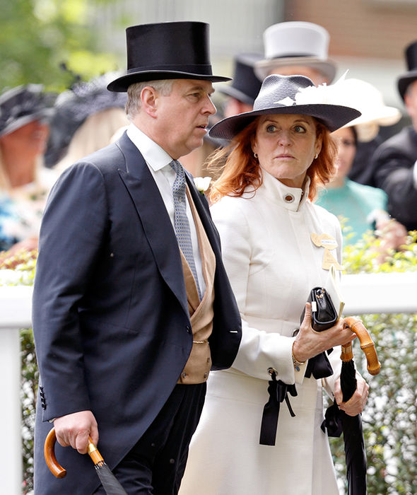 Sarah Ferguson and Prince Andrew remain firm friends (Image GETTY )