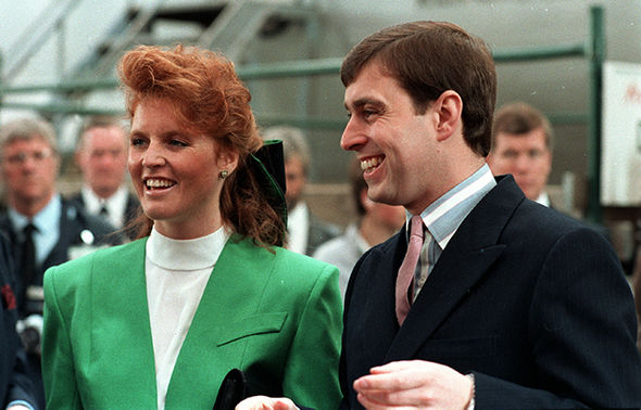 Sarah Ferguson and Prince Andrew were married after a whirlwind romance (Image GETTY )