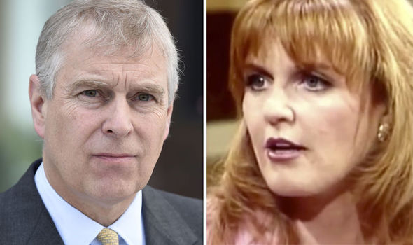 Sarah Ferguson has revealed her heartbreak at being forced to live apart from Prince Andrew (Image GETTY)