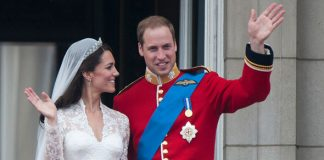 Sarah Ferguson spoke of her nephew's wedding day to Kate (Image GETTY )