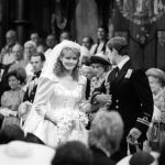 Sarah Ferguson wedding The Duchess was photographed winking as she walked down the aisle (Image PA)