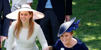 Sarah Ferguson with her daughter Princess Beatrice at Ascot this year (Image GETTY)