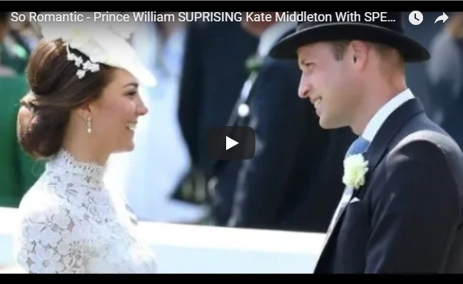 So Romantic - Prince William SURPRISING Kate Middleton With SPECIALS Gift, See It
