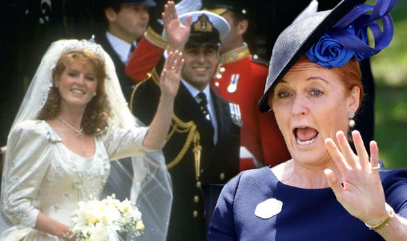 Talking to Piers Morgan, Sarah called her wedding to Prince Andrew 'mesmeric' (Image Getty Images)
