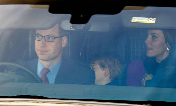 The Cambridges are in Balmoral, and Prince George has just hit a new royal milestone Photo (C) GETTY
