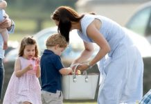 The Duchess is a doting mum to her three children PhotoThe Duchess is a doting mum to her three children Photo (C) GETTY(C) GETTY