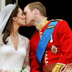The Duke and Duchess of Cambridge kiss on the balcony of Buckingham Palace (Image GETTY )