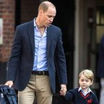 The Duke of Cambridge dropped off his son last year when he started school (Image Reuters )