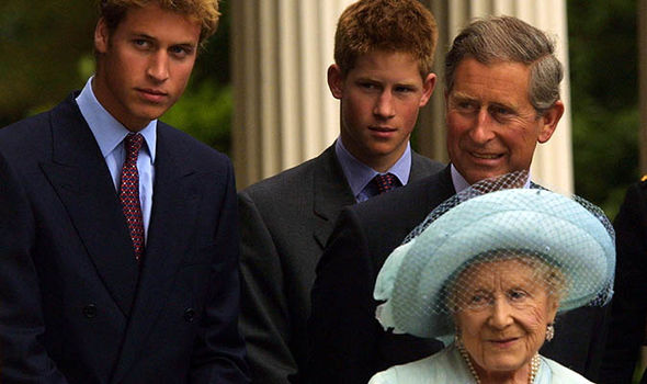 The Queen Mother died in 2002 (Image GETTY)