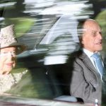 The Queen and Prince Philip attend church in Scotland (Image REX)