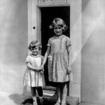 The Queen poses with her younger sister Princess Margaret (Image TopFoto Retronaut mediadrumi)