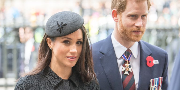 The Royal Family Is Reportedly In Total 'Crisis' Over Meghan Markle's Dad Photo (C) GETTY IMAGES SAMIR HUSSEIN