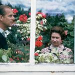 The Royal couple enjoy the Balmoral greenhouse, 1972 (Image GETTY IMAGES)