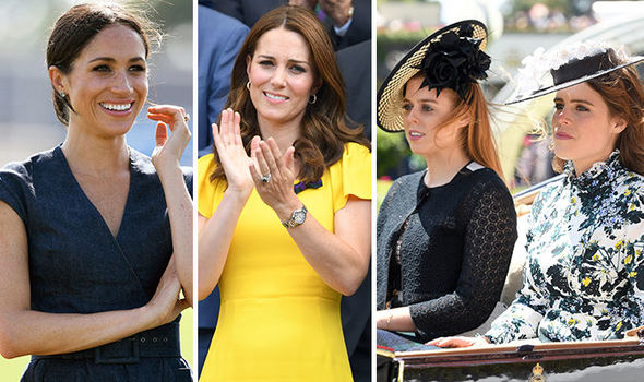 The Royal photographer said Meghan Markle and the Duchess of Cambridge were supermodels (Image GETTY)