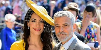The big clue that George and Amal Clooney are attending Princess Eugenie's wedding Photo (C) GETTY
