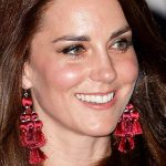 The initial earrings we think the Duchess of Cambridge will have on her Christmas list Photo (C) GETTY